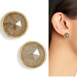 NWT Olivia Semiprecious Stone Stud Earrings